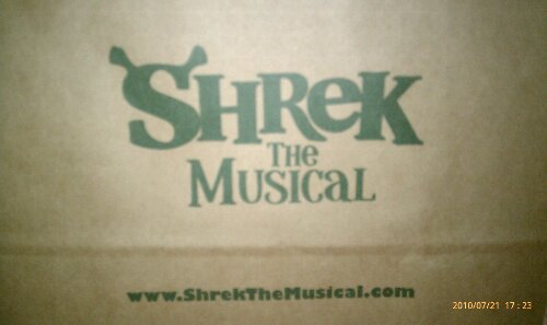 Shrek bag